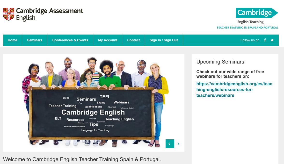 Cambridge English Teacher Training