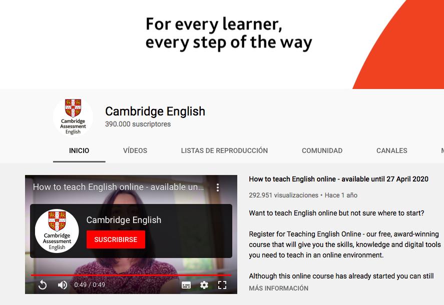 youtube cambridge assessment