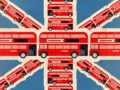 Union Jack Red Bus